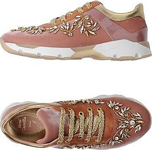 Sneakers with Coral Embroideries Spring/summer Rene Caovilla