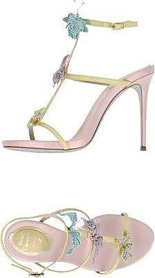 11 cm Suede Leather Sandals with Strass Fall/winter Rene Caovilla