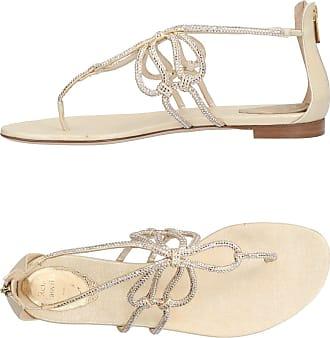 rossed pearls sandals Rene Caovilla