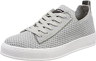 Replay Welh, Zapatillas para Mujer, Plateado (Silver), 35 EU