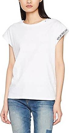 Replay W3965.000.52010t, Camiseta para Mujer, Azul (Dark Blue/Natural 10), X-Small
