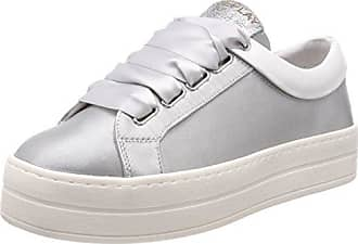 Replay Welh, Zapatillas para Mujer, Plateado (Silver), 40 EU