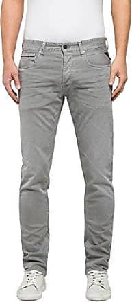 Grover, Jean Slim Homme, Gris (Light Grey 11), W36/L34 (Taille Fabricant: 36)Replay