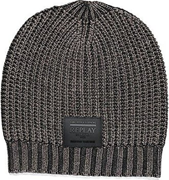 Mens Am4161.000.a7026d Beanie, Black (Black 98), One Size Replay
