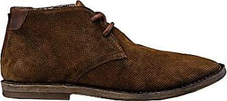 Mens Fiel Lace Up Suede Mens Brown Shoes in Size 43 Brown Replay
