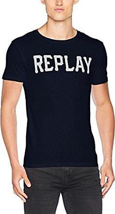 Replay W3940f.000.20994, Camiseta para Mujer, Azul (Blue 86), X-Large