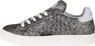 Replay »VELOURE« Sneaker, Emblem, goldfarben, old