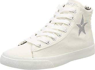 Hebbe, Zapatillas para Mujer, Plateado (Silver), 41 EU Replay
