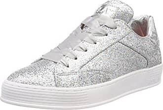 Replay Dayton, Zapatillas para Mujer, Multicolor (White Silver), 35 EU