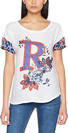 Rich & Royal 1702-422, Camiseta para Mujer, Weiß (Weiß (White 100) 100), M