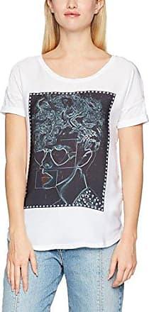 Rich & Royal 1708-411, T-Shirt Femme, (White 100), L