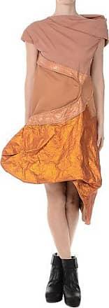 Cotton CALDER TUNIC dress NATURAL/ROSEBUD/PAPAYA Spring/summer Rick Owens