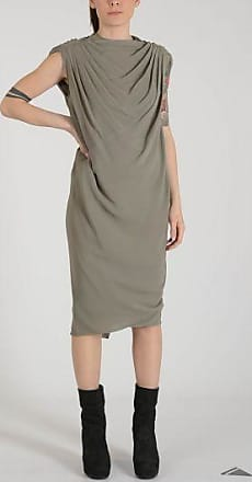 Silk Blend MOODY LS Milk Dress Spring/summer Rick Owens