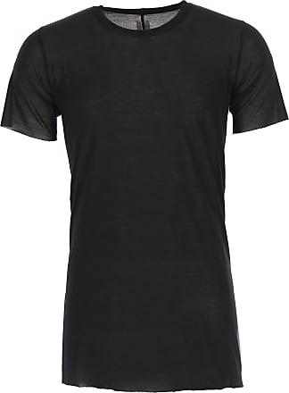 T-shirt Homme Pas cher en Soldes, Noir, Coton, 2017, LRick Owens