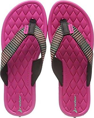 82213-00, Sandali con Tacco Donna, Multicolore (Multicolore (Black/Pink 8377)), 39 EU Rider