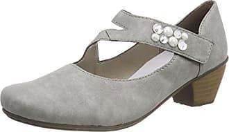 41743, Zapatos de Tacón para Mujer, Azul (Adria/Jeans), 36 EU Rieker