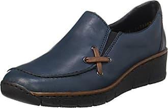 Rieker - 41751, Zapatos de Tacón Mujer, Negro (Nero), 42 EU