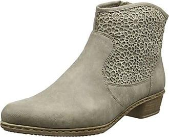 Gabor Shoes Gabor Basic 35.630 - Botas con forro para mujer, Gris (anthrazit 19), 37 EU (4 Damen UK)