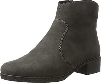Rieker 51611, Zapatillas Altas para Mujer, Negro (Graphit/Schwarz), 40 EU