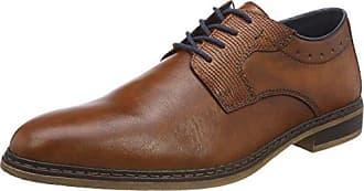 Rieker - 8065, Zapatillas sin cordones Hombre, Azul (Denim/jeans/schwarz), 43 EU
