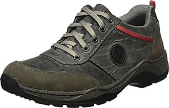 Hotter Tone GTX, Zapatos de Cordones Oxford para Mujer, Gris (Gunmetal), 41 EU