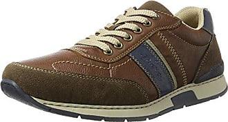 Rieker N5007, Zapatillas para Mujer, Multicolor (Multicolor/Cement), 41 EU