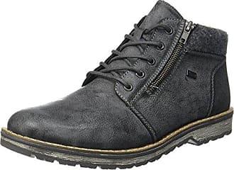 B3831, Stivali Desert Boots Uomo, Blu (Pazifik/14), 45 EU Rieker