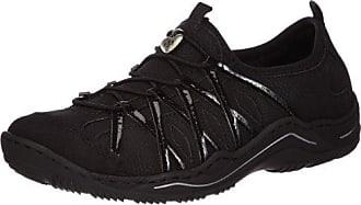 Rieker Damen L0559 Sneakers  40 EUSchwarz (Schwarz/Schwarz/Schwarz/Schwarz / 00)
