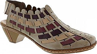 Sina 46778-62 - Zapatos de vestir para mujer, color marrón, talla 40 Rieker