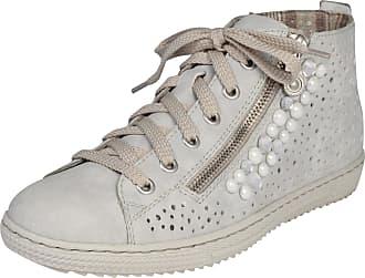 Sandales Avec Gris De Ceinture De Strass Rieker