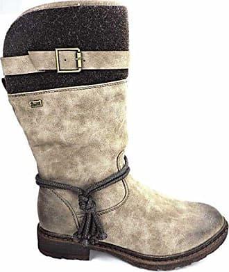 Rieker Damen Stiefeletten Gefüttert Grau, Schuhgröße:EUR 36