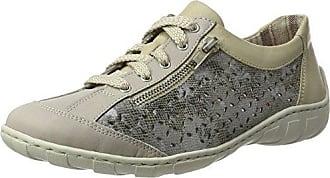 Rieker M6012, Zapatillas para Mujer, Gris (Staub), 40 EU
