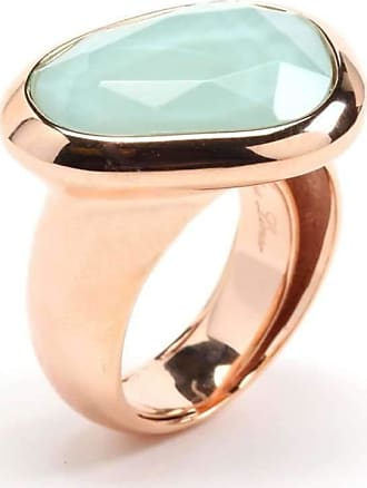 Rina Limor Sunrise Teal Color Crystal Bubble ring - UK N - US 6 1/2 - EU 54