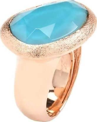 Rina Limor Sunrise Bold Pink Ring - UK Q - US 8 - EU 57 3/4