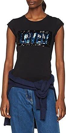 Rinascimento CFC0084580003, Camiseta para Mujer, Negro (Nero B001), Large