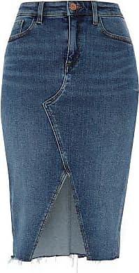 jupes en jean achetez 461 marques jusqu 39 60 stylight. Black Bedroom Furniture Sets. Home Design Ideas