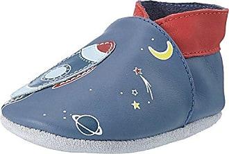 Robeez Moonlight, Zapatos Unisex Bebé, Azul (Marine Gris 103), 17/18 EU