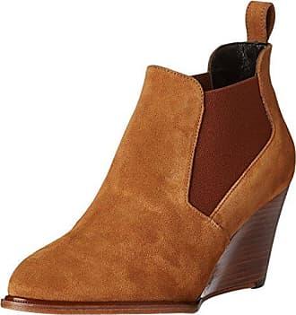 Robert Clergerie - Zapatos de Cordones de Otra Piel Mujer, Marrn (Marrn (Cognac 21)), 41 EU