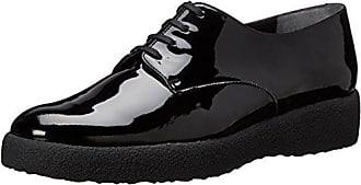 Elizabeth Stuart VUTOU 337 - Zapatos de Cordones de Otra Piel Mujer, Negro (Negro (Noir)), 36 EU