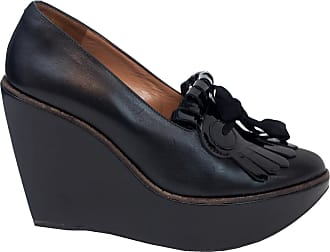 Pre-owned - Black Leather Heels Robert Clergerie