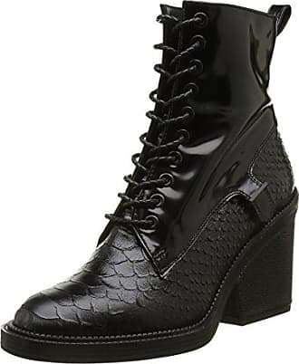 Nerdaln, Bottines Classiques Femme, Noir (Velours Stretch Noir), 37 EURobert Clergerie