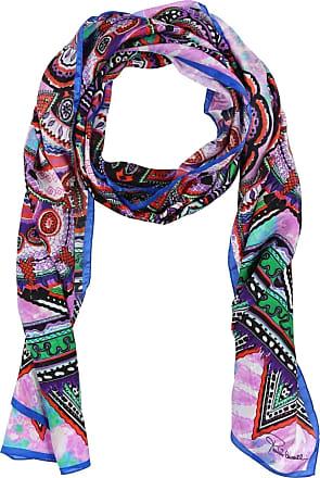 swirl scarf - Pink & Purple Roberto Cavalli