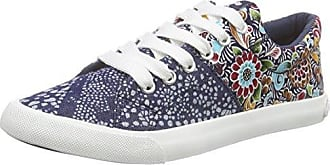 Magic, Sneakers Basses Femme, Multicolore (Natural Multi Ebd), 38 EU (5 UK)Rocket Dog