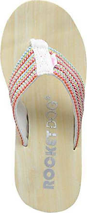 Rocket Dog Damen Big Top Zehentrenner, Mehrfarbig (Pink Multi Pink Multi), 38 EU