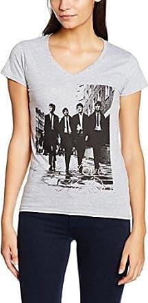 Rockoff Trade Revolver Foil Cropped, Camiseta para Mujer, Gris (Grey), Small