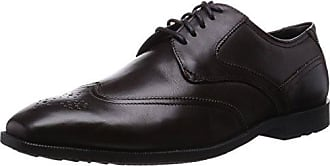 Herren Essential Details Ii Wingtip Derby Schnürhalbschuhe, Braun (Tan Antique Leather), 43 EU Rockport