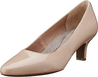 Sharna Shasmeen, Zapatos de Tacón con Punta Cerrada para Mujer, Beige (Warm Taupe 242), 40 EU Rockport