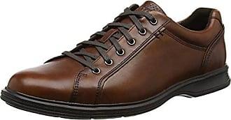 RockportDressports 2 Lite Apron Toe - Zapatos Planos con Cordones Hombre, Color Marrón, Talla 43