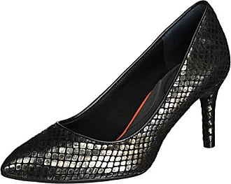 TM75MMPTH Cross, Zapatos de Tacón con Punta Cerrada para Mujer, Negro (Black 001), 39 EU Rockport