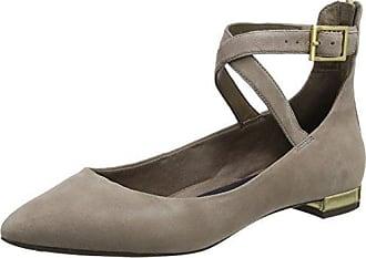 20R21YBLK - Zapatos de Tacón con Punta Cerrada de Sintético Mujer, Color Negro, Talla 37 EVANS